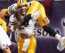 Brett Favre & Donald Driver Green Bay Packers 8X10 Photo