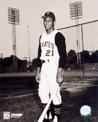 Roberto Clemente At Forbes Field Pirates 8X10 Photo LIMITED STOCK -