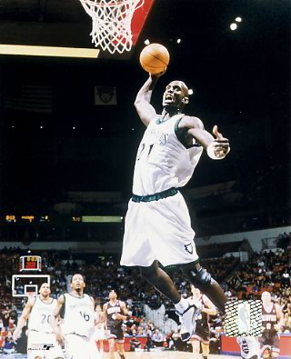 Kevin Garnett LIMITED STOCK Minnesota Timberwolves 8X10 Photo