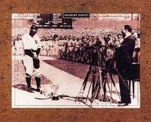 """Lou Gehrig """"Luckiest Man"""" Farewell Speech Yankee Stadium 8x10 Photo SUPER SALE!"""