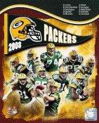 Packers 2008 Green Bay Team 8X10 Photo