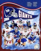 Giants 2008 New York Team 8X10 Photo