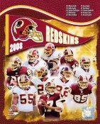 Redskins 2008 Washington Team 8X10 Photo