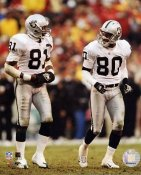 Jerry Rice & Tim Brown Oakland Raiders 8X10 Photo