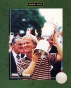 Jack Nicklaus 1980 US Open Champ (Story on Back) 8X10 Photo
