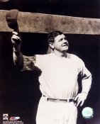 Babe Ruth Tips Hat New York Yankees 8X10 Photo