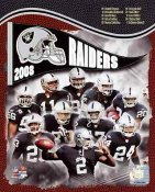 Raiders 2008 Oakland Team 8X10