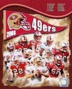49ers 2008 San Francisco Team 8X10 Photo