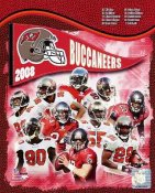 Buccaneers 2008 Tampa Bay Team 8x10 Photo