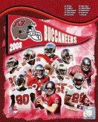 Buccaneers 2008 Tampa Bay Team 8x10 Photo