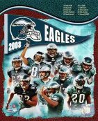 Eagles 2008 Philadelphia Team 8x10 Photo
