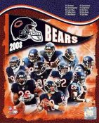 Bears 2008 Chicago Team 8X10 Photo
