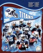 Titans 2008 Tennessee Team 8X10 Photo