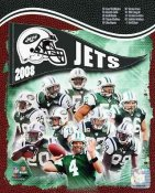Jets 2008 New York Team 8X10 Photo