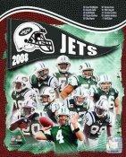 Jets 2008 New York Team 8X10 Photo