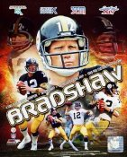 Terry Bradshaw Composite Pittsburgh Steelers SATIN 8x10 Photo
