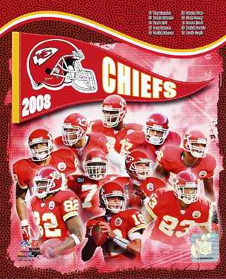 Chiefs 2008 Kansas City Team 8x10 Photo