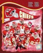 Chiefs 2008 Kansas City Team 8x10 Photo