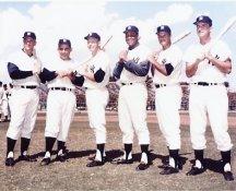 Mickey Mantle, Roger Maris, Yogi Berra, Elston Howard, Bill Skowron & Johnny Blanchard All Players Had 20 or More Home Runs 1961 Yankees LIMITED STOCK 8X10 Photo