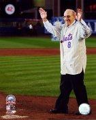 Yogi Berra Final Game at Shea Stadium  New York Mets 8X10 Photo