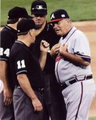 Bobby Cox Coach Atlanta Braves 8X10 Photo