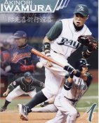 Akinori Iwamura Collage Tampa Bay Devil Rays 8X10 Photo