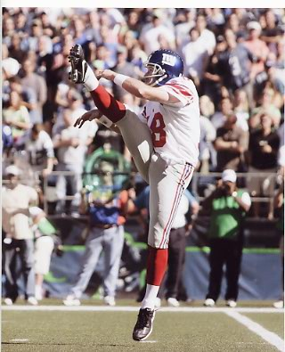 Jeff Feagles New York Giants 8X10 Photo