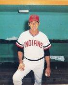 Warren Spahn SALE Cleveland Indians GLOSSY CARDBOARD STOCK 8X10 Photo