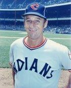 Warren Spahn Cleveland Indians 8X10 Photo