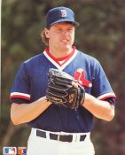 Roger Clemens Boston Red Sox SUPER SALE Slight Corner Crease Barry Colla 8X10 Glossy Card Stock