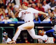 Pat Burrell 2008 NLCS Game 1 HR Phillies 8X10 Photo