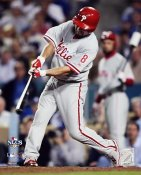 Shane Victorino NLCS Game 4 HR 2008 LIMITED STOCK Phillies 8X10 Photo