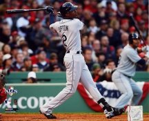 BJ Upton Game 3 HR 2008 ALCS LIMITED STOCK Rays 8X10 Photo