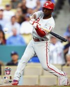 Jimmy Rollins LIMITED STOCK NLCS Game 5 HR 2008 Phillies 8X10 Photo