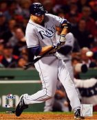Rocco Baldelli ALCS Game 3 HR 2008 LIMITED STOCK Rays 8X10 Photo