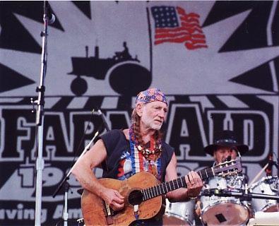 Willie Nelson 8X10 Photo
