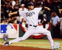 Matt Garza ALCS Game 7 2008 LIMITED STOCK Rays 8X10 Photo