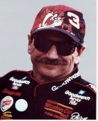 Dale Earnhardt G1 LIMITED STOCK RARE 8X10 Photo TAZ HAT