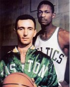 Bob Cousy and Bill Russell Boston Celtics 8X10 Photo LIMITED STOCK