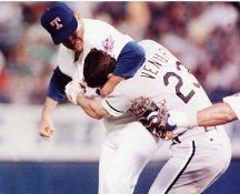 Robin Ventura and Nolan Ryan Texas Rangers 8X10 Photo
