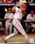 Chase Utley Game 1 World Series 2008 Champs  LIMITED STOCK Phillies 8X10 Photo