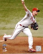 Brad Lidge Game 1 World Series 2008 Phillies 8X10 Photo