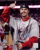 Cole Hamels LIMITED STOCK MVP  World Series 2008 Phillies 8X10 Photo