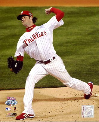 Cole Hamels Game 5 World Series 2008 LIMITED STOCK Phillies 8X10 Photo