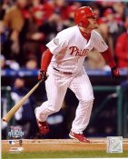 Geoff Jenkins Game 5 World Series Double 2008 LIMITED STOCK Phillies 8X10 Photo