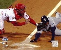Carlos Ruiz Game 5 World Series 2008 LIMITED STOCK  Philadelphia Phillies 8X10 Photo