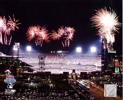 Citizens Bank Park World Series 2008 Game 5 LIMITED STOCK Philadelphia Phillies 8X10 Photo