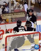 Sidney Crosby 100th Goal, 200th Assist & 300th Point Pittsburgh Penguins 8x10 Photo