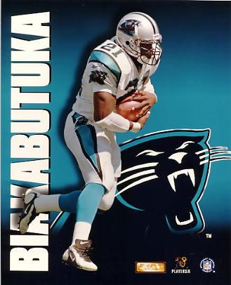 Tim Biakabutuka LIMITED STOCK Carolina Panthers 8X10 Photo