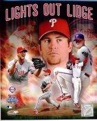 Brad Lidge World Series 2008 Lights Out Lidge Phillies 8X10 Photo